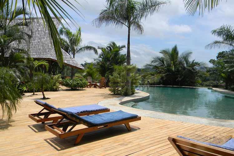 Swimming Pool - El Sabanero Eco Lodge - Tamarindo
