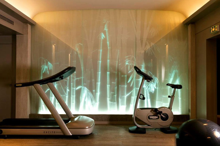 Fitness Room - Le Pavillon De la Reine - Paris