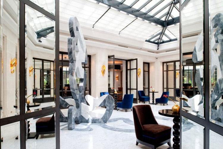 Le burgundy paris a boutique hotel in paris for Hotel design paris 6