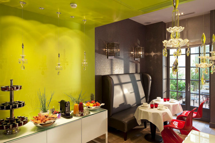 Breakfast Room - Hotel Le Petit Paris - Paris