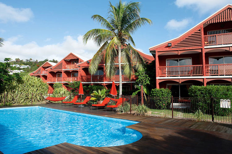 Facade - Palm Court Hotel - Antillas Francesas (Fr)