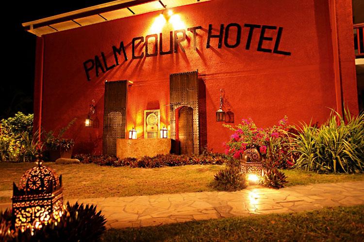 Entrance - Palm Court Hotel - Antillas Francesas (Fr)