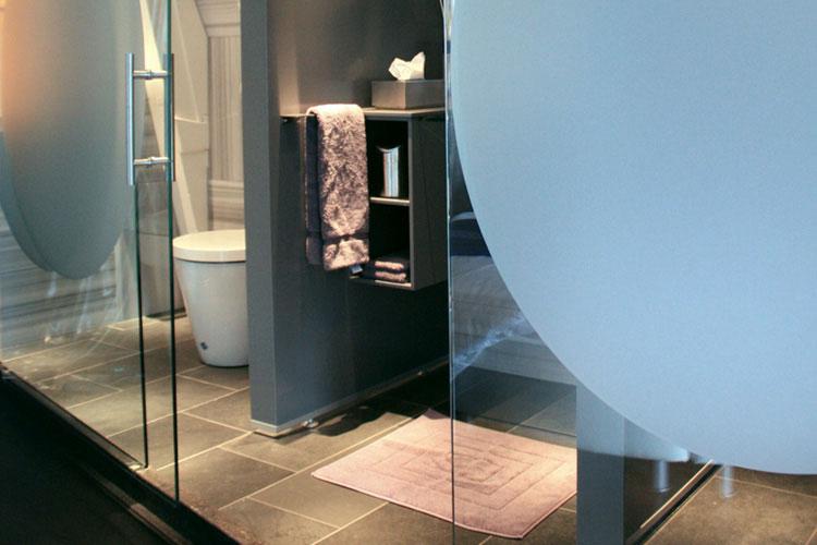 Blue Bathroom - Kamer 01 - Amsterdam
