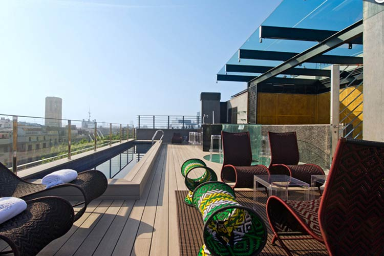 Terrace - Hotel Bagués - Barcelona