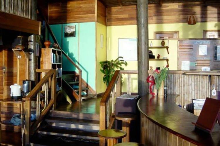 Front Desk - Samasati - Puerto Viejo de Talamanca