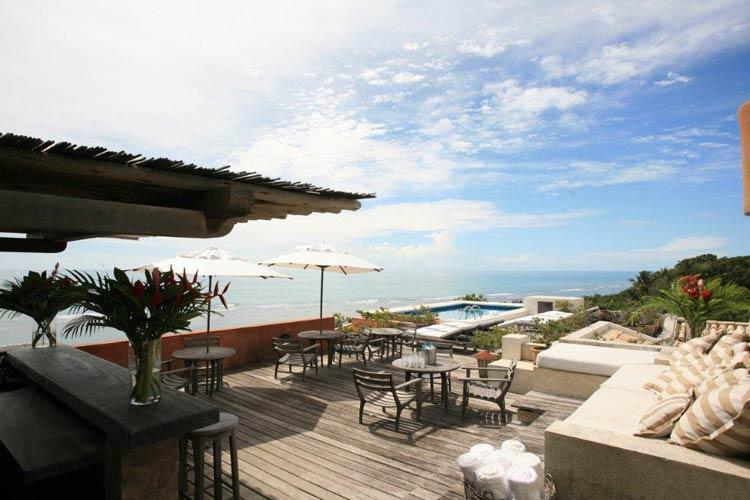 Terrace - Hotel Maitei - Arraial d'Ajuda
