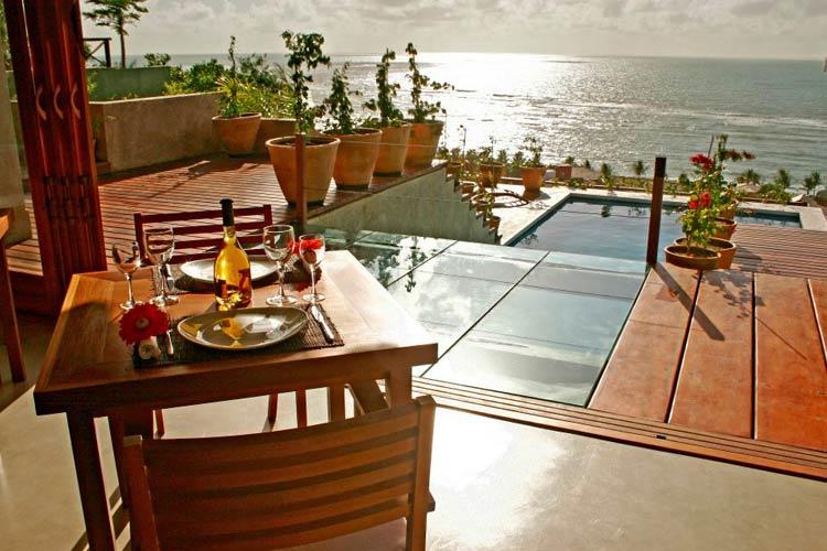 Outdoor Restaurant - Hotel Maitei - Arraial d'Ajuda