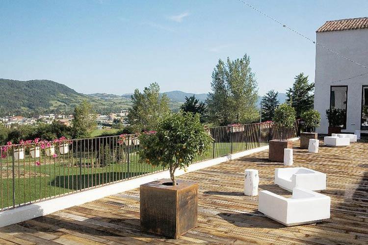 Terrace - Casadonna Reale - Castel di Sangro