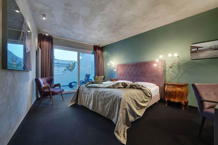 Bristol Double Room - Art & Design Boutique Hotel ImperialArt - Merano