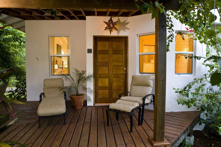 Suite Entrance - Ka'ana Boutique Resort - San Ignacio