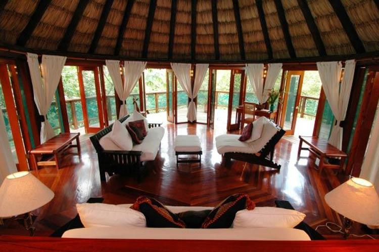 Cottage Living Room - Chaa Creek - San Ignacio