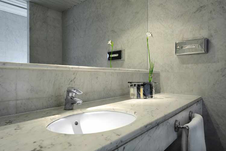 Standard Room Bathroom - Gran Derby Hotel - Barcelona