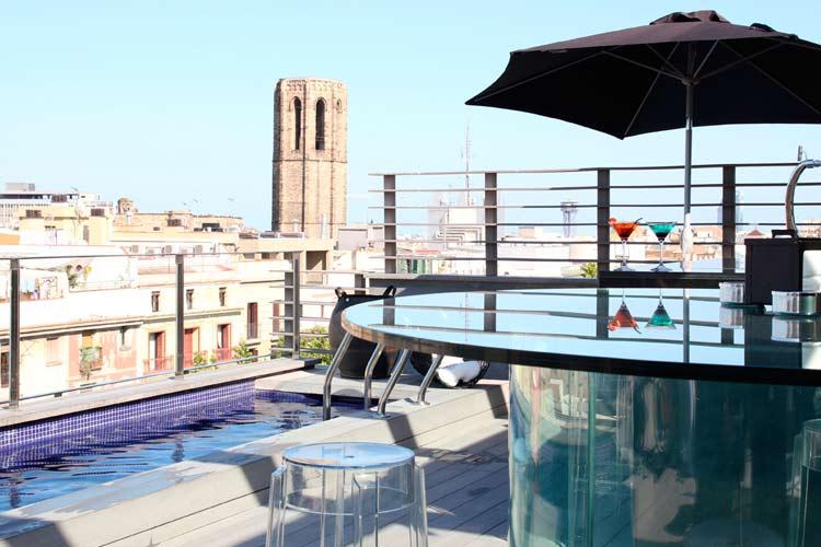Swimming Pool - Hotel Bagués - Barcelona