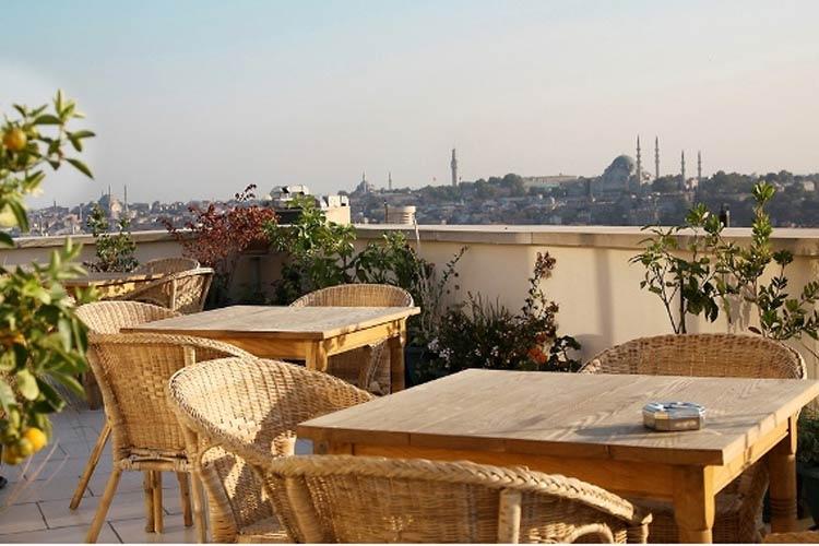 Terrace Detail - Adahan Istanbul - Istanbul