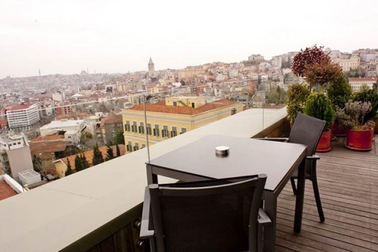 Terrace - Witt Istanbul Suites - Istanbul