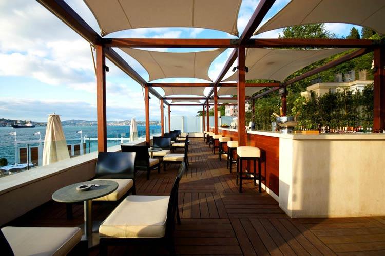 Terrace - A'jia Hotel - Istanbul