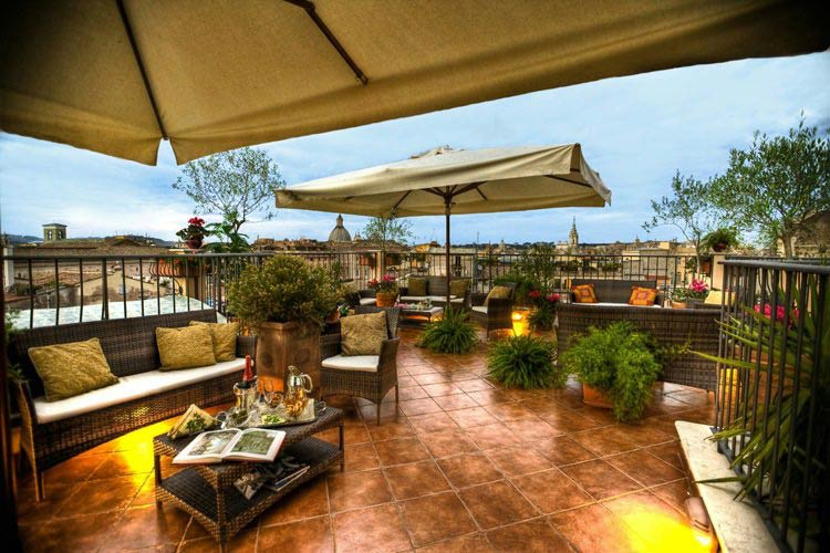 Hotel campo de 39 fiori a boutique hotel in rome for Small great hotels