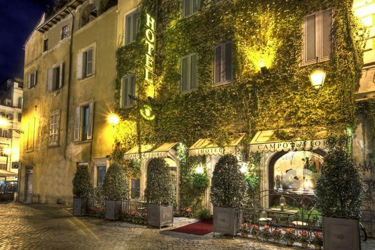 Hotel campo de 39 fiori ein boutiquehotel in rom for Great small hotel