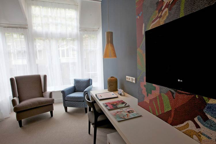 Executive Deluxe Double Room - Hotel JL No76 - Amsterdam