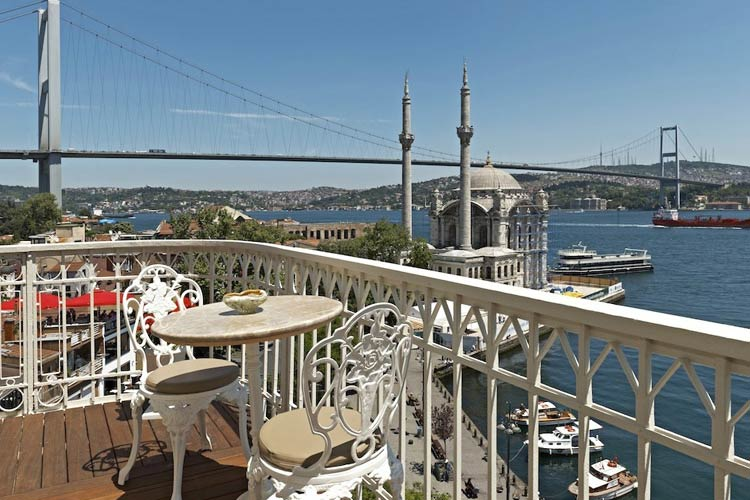 Terrace - The House Hotel Bosphorus - Istanbul