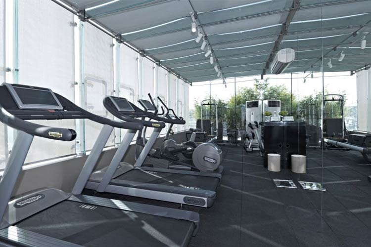 Fitness Room - The House Hotel Nisantasi - Istanbul
