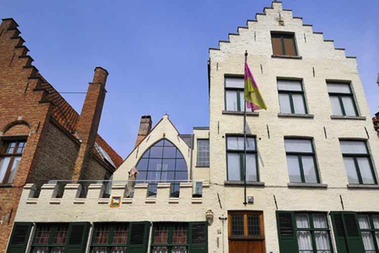 Facade - Huis't Schaep - Bruges