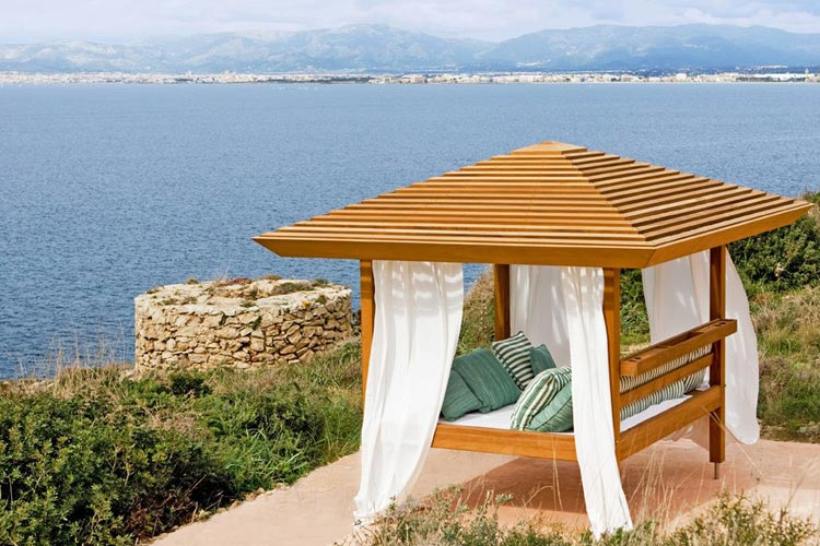 cap rocat a boutique hotel in cala blava. Black Bedroom Furniture Sets. Home Design Ideas