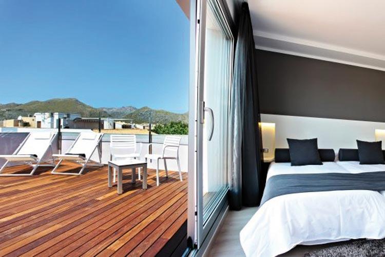 Mar calma hotel h tel boutique port de pollen a for Hotel design majorque