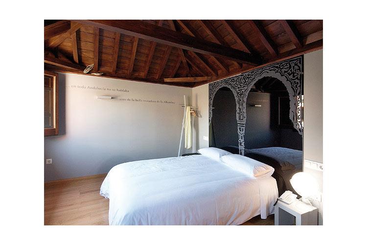 Leyenda de la Rosa Double Room - Gar-Anat Hotel de Peregrinos - Grenade