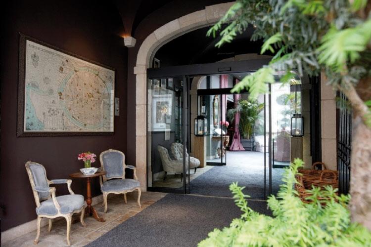 Entrance - Hotel de Orangerie - Bruges