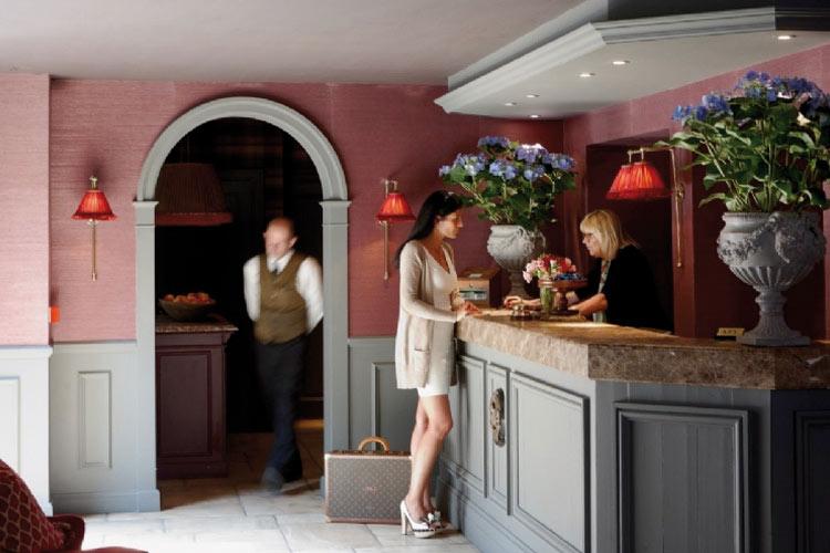 Front Desk - Hotel de Orangerie - Bruges