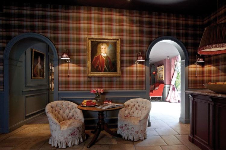 Corridor - Hotel de Orangerie - Bruges