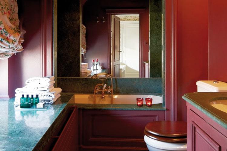 Bathroom - Hotel de Orangerie - Bruges