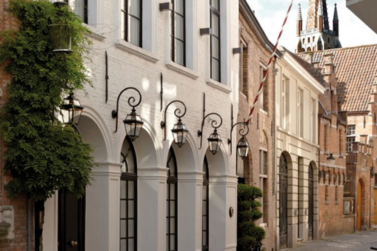 Facade - Hotel de Orangerie - Bruges