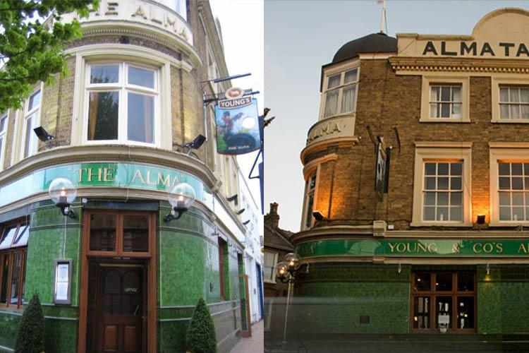 Facade - The Alma Wandsworth - Londres