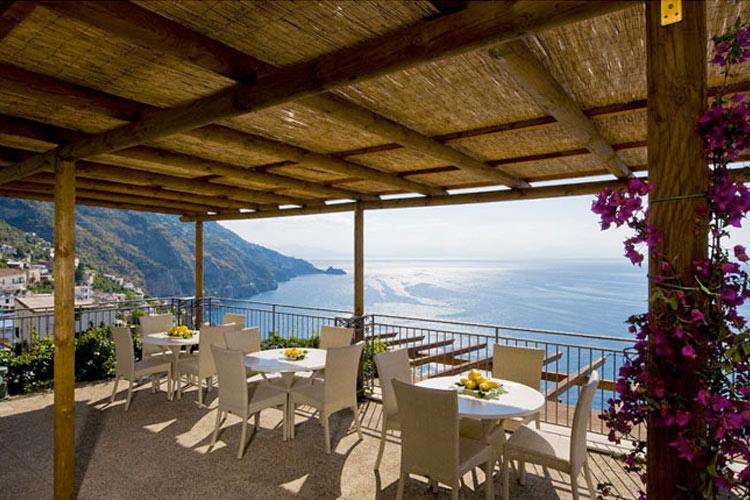 Terrace - Hotel Margherita - Costa Amalfitana