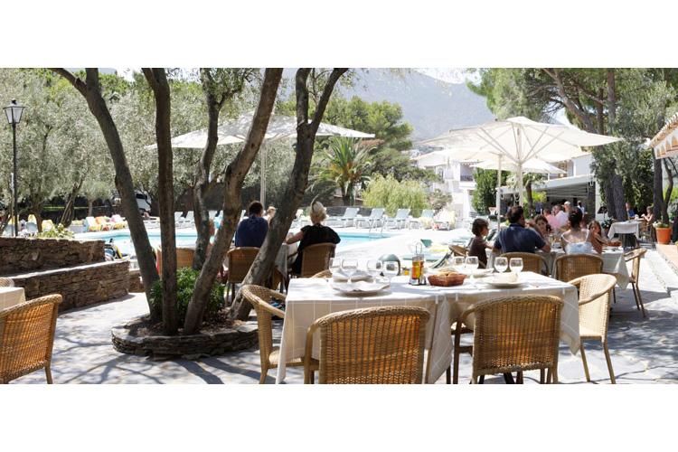 Terrace - Hotel Playa Sol - Costa Brava