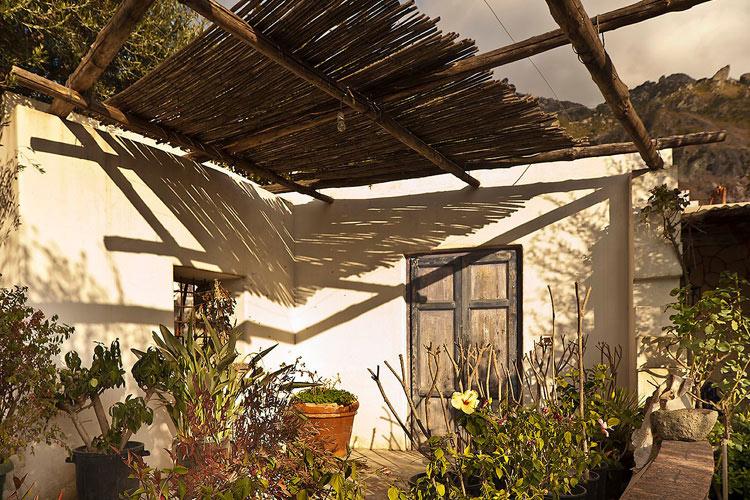 Courtyard - Tenuta del Poggio Antico - Capri, Ischia und Procida