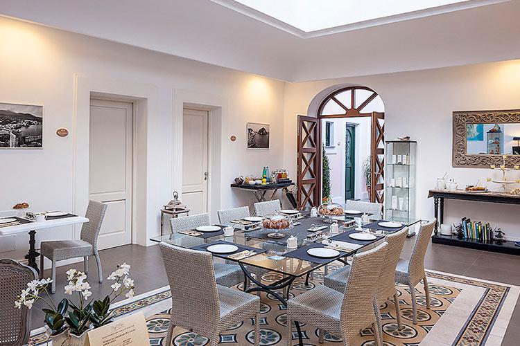 Living Room - Tenuta del Poggio Antico - Capri, Ischia und Procida