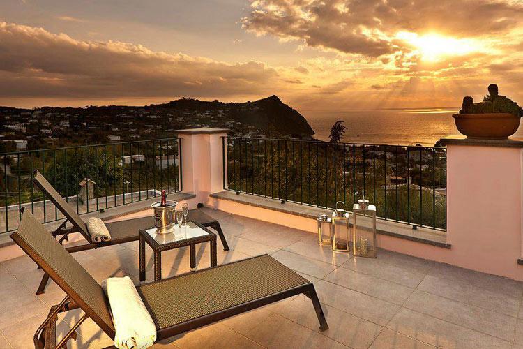 Private Terrace - Tenuta del Poggio Antico - Capri, Ischia und Procida