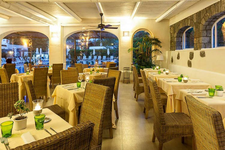 Restaurant - Garden & Villas Resort - Capri, Ischia und Procida