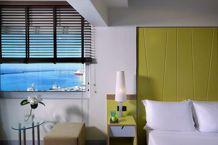 Superior Sea View Room - Lato Boutique Hotel - Iraklio