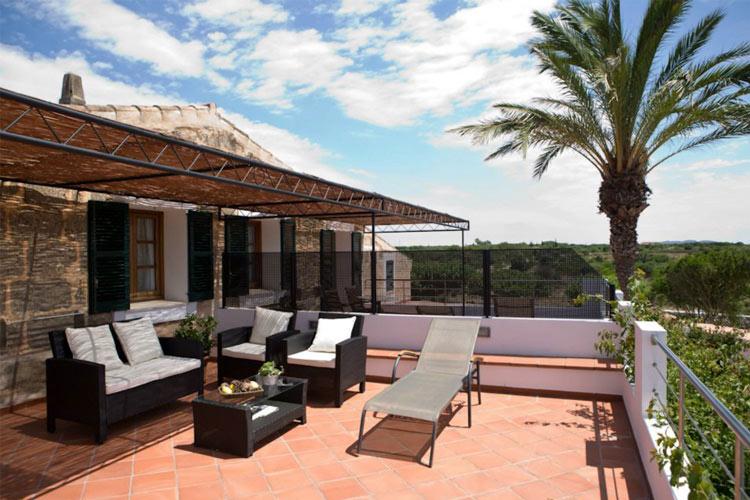 Terrace - Hotel Rural Morvedra Nou - Ciudadella