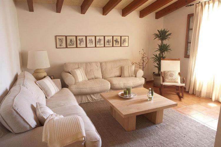 Living Room - Hotel Rural Morvedra Nou - Ciudadella