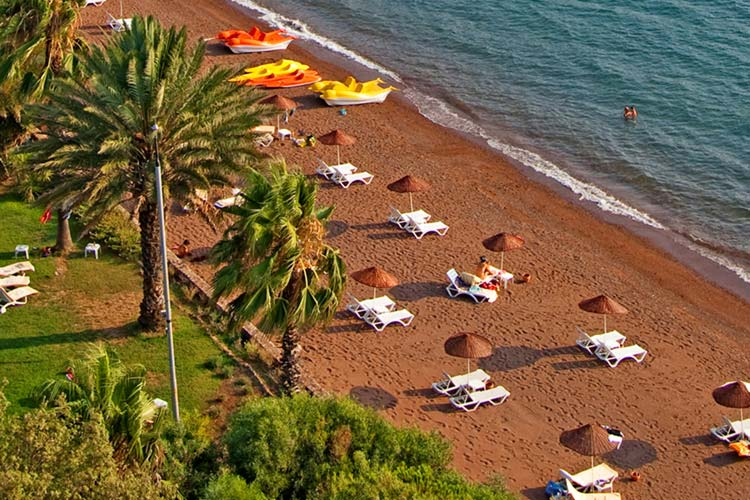 Beach - Golden Key Bördübet - Marmaris