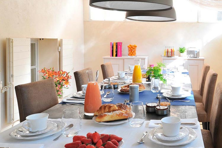 Breakfast Room - La Maison d'Aix - Aix-en-Provence