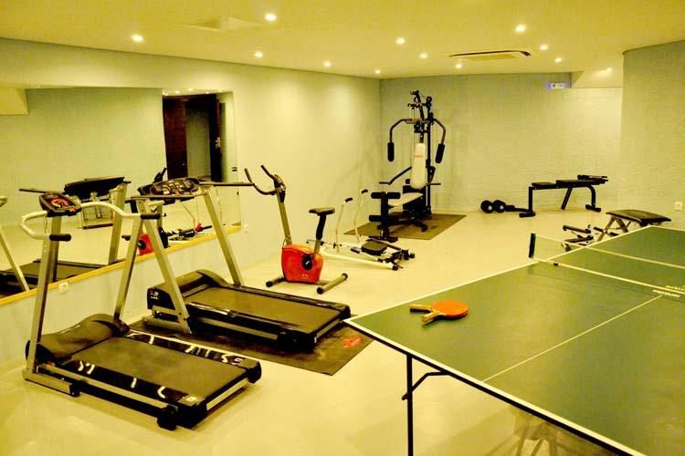 Fitness Room - Leivatho Hotel - Svoronáta