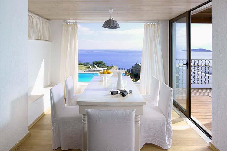 Anemos Dining Room - Thalassa Villas - Agios Nikolaos