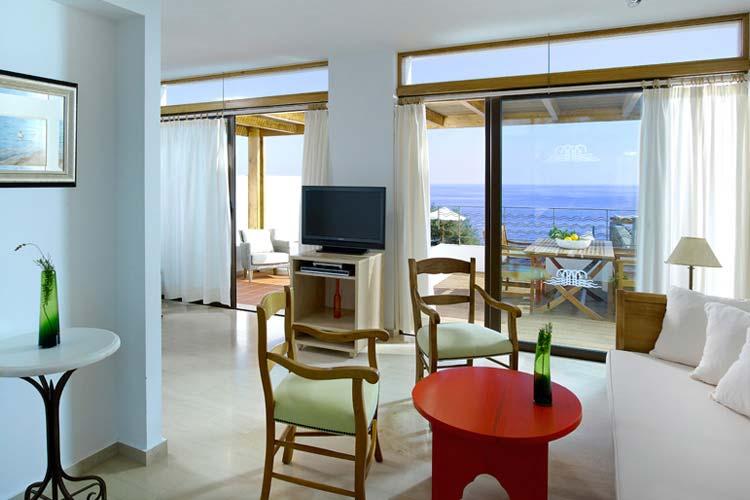 Hermes Lounge - Thalassa Villas - Agios Nikolaos