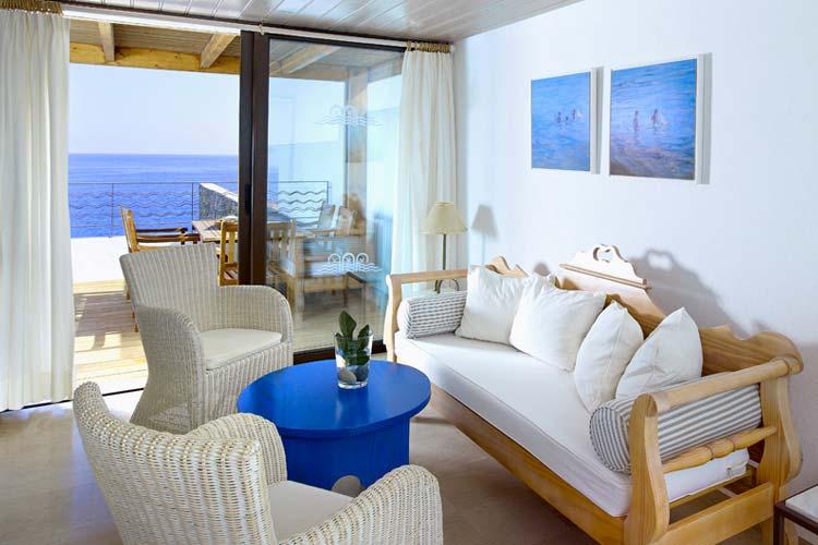 Flisvos Lounge - Thalassa Villas - Agios Nikolaos